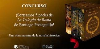 Sortean 5 packs de La Trilogía de Roma