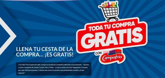Consigue tu compra gratis con Campofrío