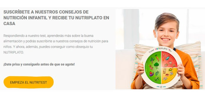 Consigue un regalo con el Nutritest de Nestlé