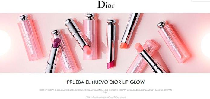 Prueba gratis el nuevo Dior Lip Glow