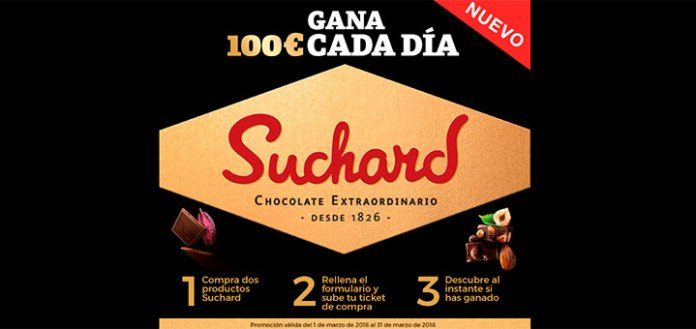 Gana 100€ cada día con Suchard