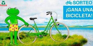 Gana una bicicleta con Frosch ecológico