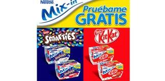 Prueba gratis Mix-In de Nestlé