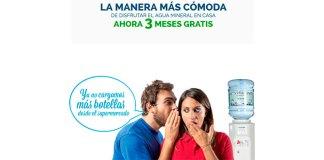 3 Meses gratis de agua mineral en casa con Acquajet