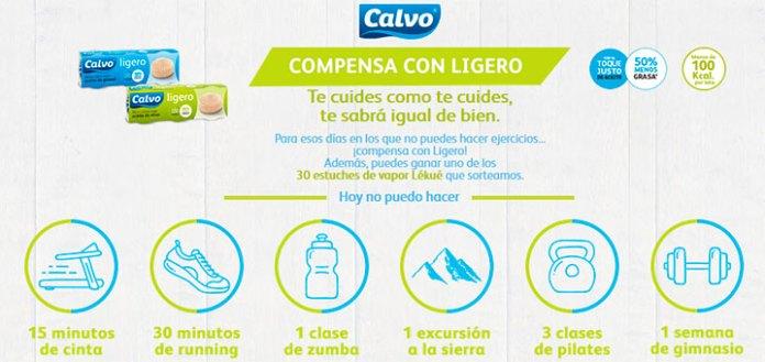 Calvo sortea 30 estuches de vapor Lékué
