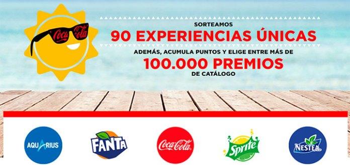 Siente el verano con Coca Cola