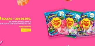 20€ de descuento en Portaventura Park con Chupa Chups