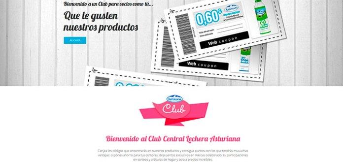 Consigue ventajas con el Club Central Lechera Asturiana