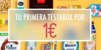 Tu primera testabox por 1 euro