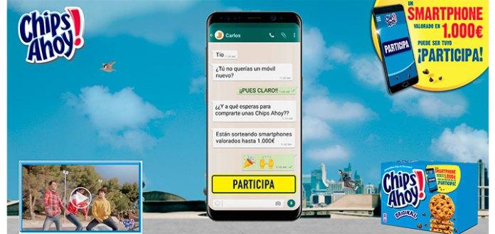 Gana un Smartphone con Chips Ahoy