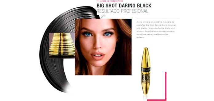 Prueba gratis Big Shot Daring Black