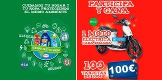Sortean 1 moto cada semana y 100 tarjetas de 100€