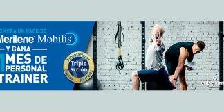 Consigue un mes de personal Trainer y sobres Meritene Mobilis