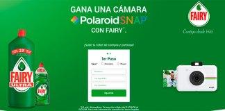 Gana una cámara Polaroid Snap con Fairy