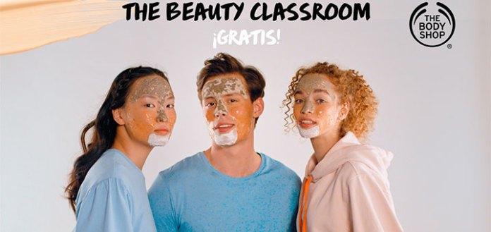 Clase de belleza gratis con The Body Shop