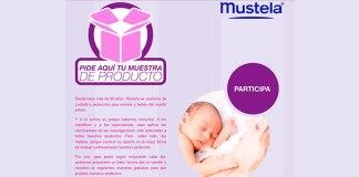 Muestras gratis de productos Mustela