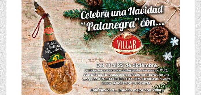 Participa en el sorteo de una paleta de bellota Villar