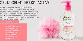 Prueba gratis Gel Micelar de Skin Active