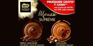 Prueba gratis Mousse Suprème Nestlé Gold