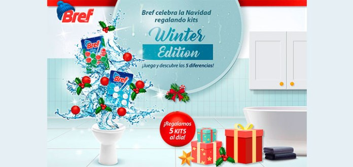 Sortean 5 kits de Bref Winter Edition cada día