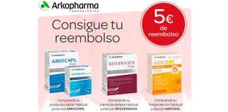 Consigue 5€ de reembolso con Arkopharma