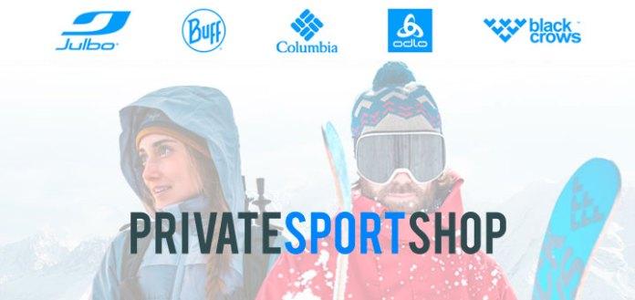 Descuentos de hasta el 70% en Private Sport Shop