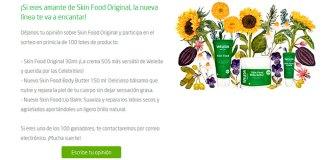 Weleda sortea 100 lotes de Skin Food Original