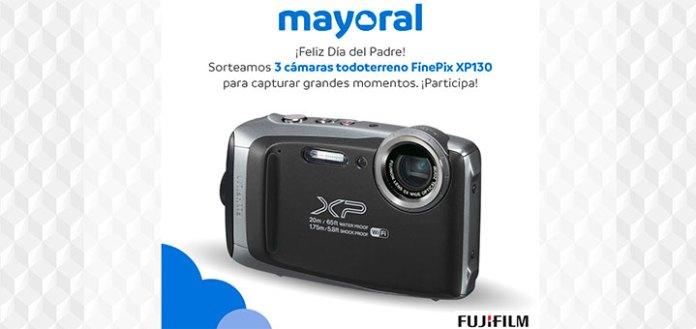 Mayoral sortea 3 cámaras Fujifilm