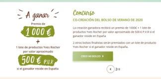Concurso Co-Creación del bolso de verano de 2020 Yves Rocher
