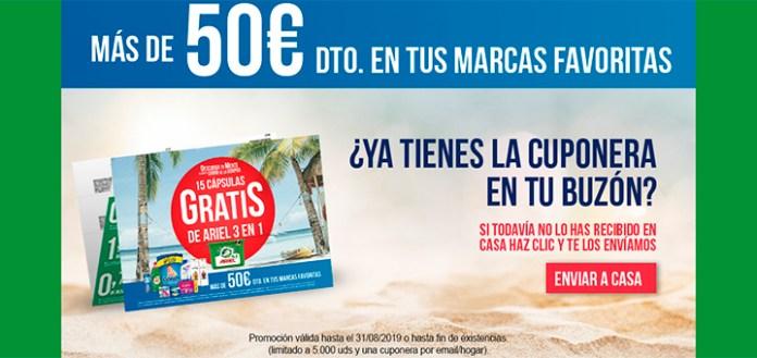 Más de 50 euros de descuento en marcas de P&G