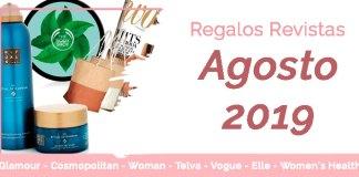 Regalos Revistas Agosto 2019
