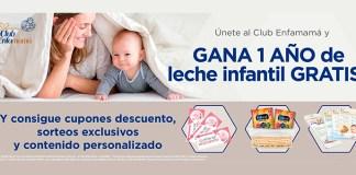 Gana 1 año de leche infantil gratis con Club Enfamamá