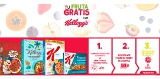 Consigue fruta gratis con Kellogg's