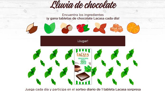Gana tabletas de chocolate Lacasa cada día