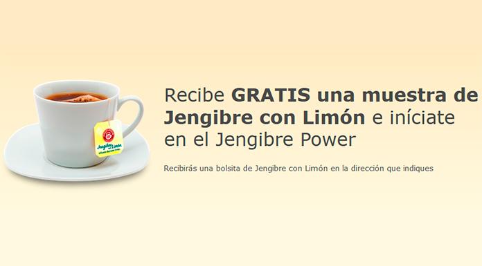 Muestras gratis de Jengibre con Limón Pompadour