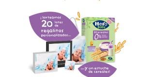 Hero Baby sortea 20 lotes de regalos personalizados