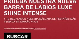 Llévate gratis una máscara de pestañas Bobbi Brown