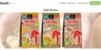 Prueba gratis Gallo Recetas con Kuvut