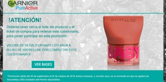 Recibe de regalo un Baby Lips Balm & Blush de Maybelline