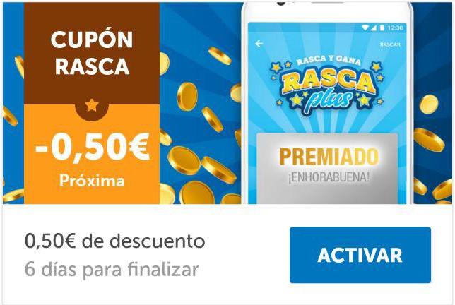 Cupón de 50 céntimos de descuento en la App de Lidl Plus