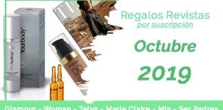 Regalos Revistas octubre 2019 por suscripción