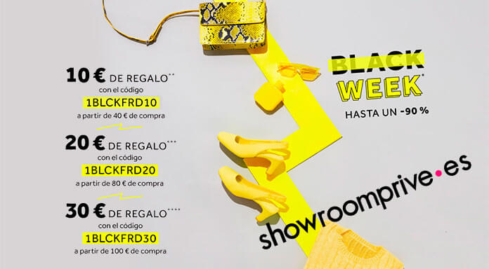 Black Week en Showroomprive