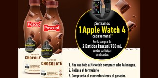 Pascual sortea 1 Apple Watch 4 cada semana