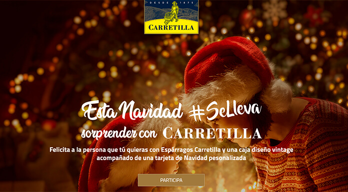 Carretilla sortea 25 regalos de Navidad