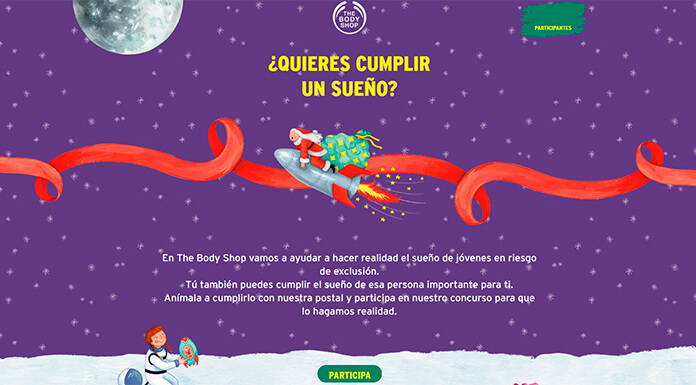 Cumple un sueño con The Body Shop