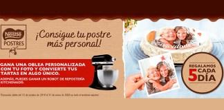 Gana una oblea personalizada con Nestlé Postres