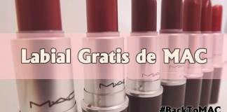 Consigue un Labial gratis con MAC