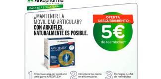 5 euros de reembolso en Arkoflex