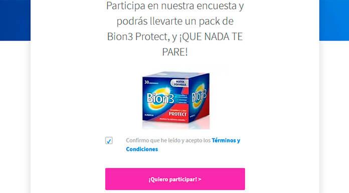 Llévate un pack de Bion3 Protect con Próxima a ti