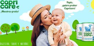 Muestras gratis de Capricare 2 para tu bebé